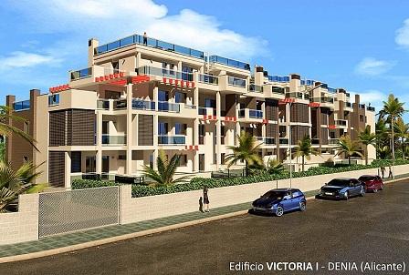 Proyecto de edificio en Denia