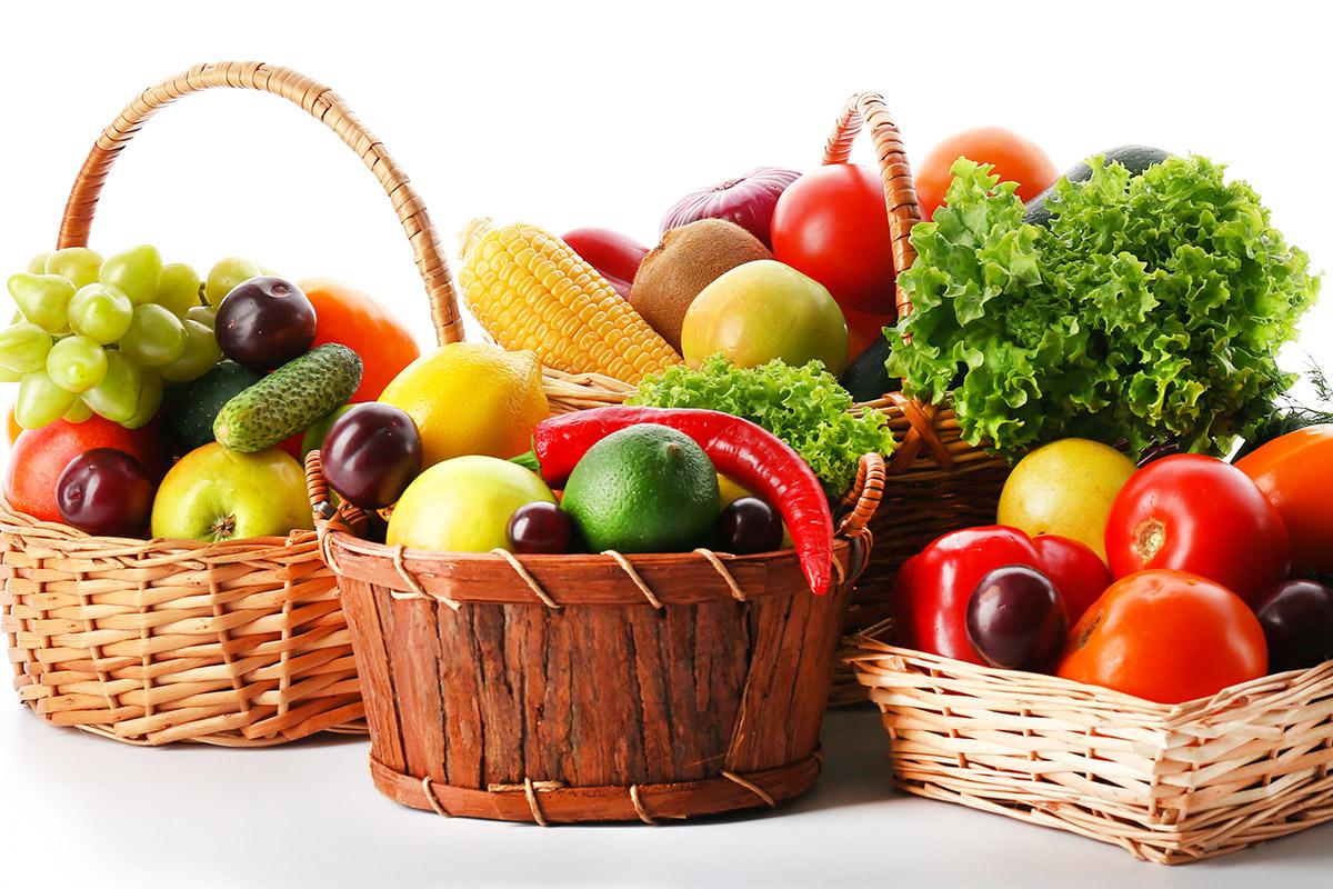 Fruta  y verdura de temporada